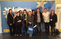Con Sonia Pérez P Europeos Consellería