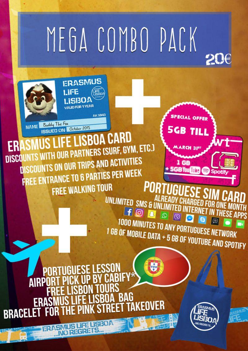 Studen Card Discounts - Erasmus Life Lisboa