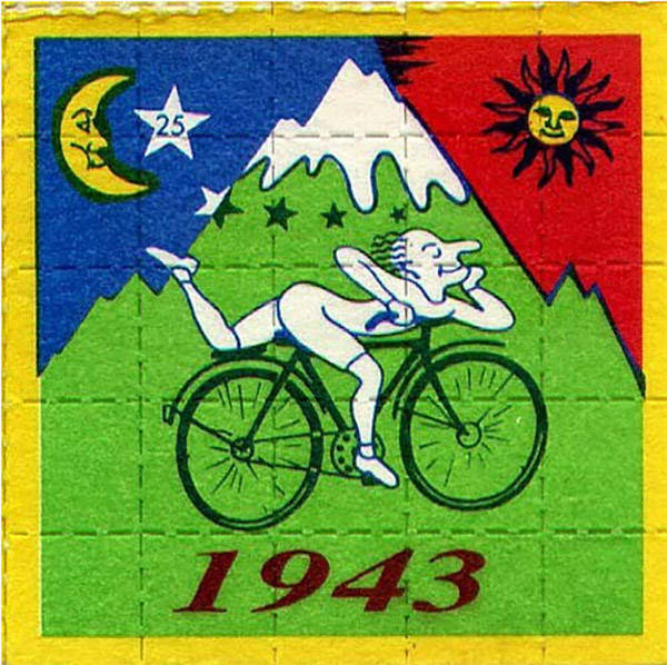 blotter bicycle day