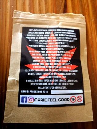 master kush cannabis light confezione retro