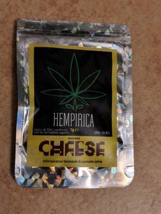 Bustina di Hempirica Cheese canapa light recensione