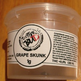Barattolo grape skunk