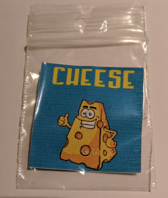 Bustina di Cheese, canapa legale
