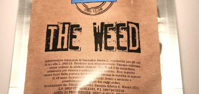 Bustina di canapa legale the weed