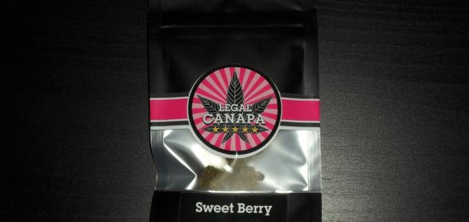 bustina di sweet berry
