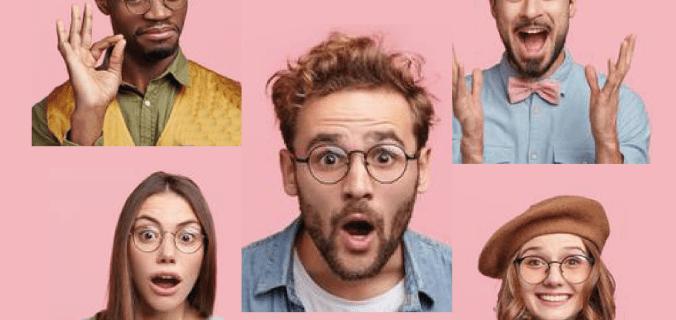 cinque visi entusiasti