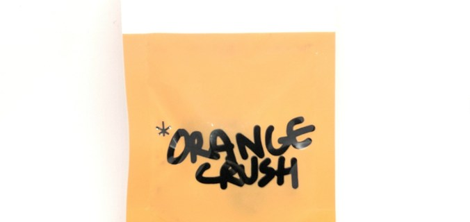 Bustina arancione di Orange Crush