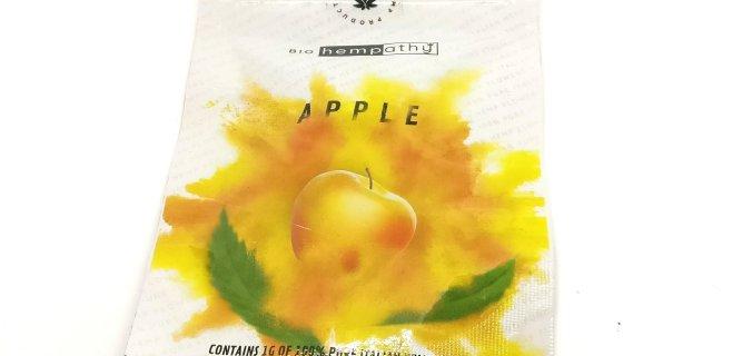 apple canapa legale bustina