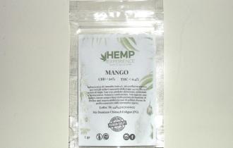 """Bustina di canapa legale """"Mango"""" di Hemp Experience"""