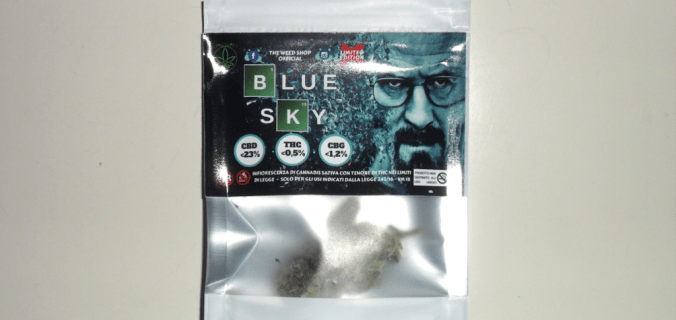 Bustina Canapa legale Blue Sky di The Weed Shop Official