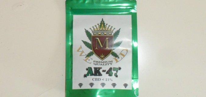 Bustina in plastica verde AK74 di M Weed