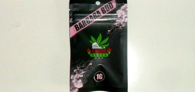 Bustina di cannabis light Barbara Bud di Amor Green