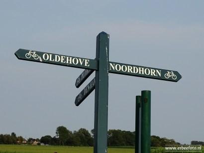 Wegwijzer Oldehove - Noordhorn