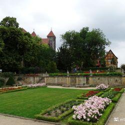 Tuin Quedlinburg Schloss - St Servatii