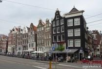 Amsterdam, scheve panden