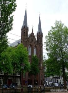 Amsterdam, kerk aan de gracht