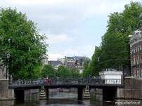 Brug over de Amsterdamse Gracht, Amsterdam (rondvaart Lovers)