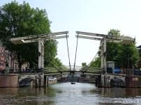 Amsterdam (rondvaart Lovers), brug over de gracht