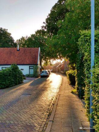 Zonsondergang 'golden hour' Noordhorn