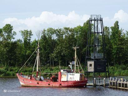 Zoutkamp Haven Schepen