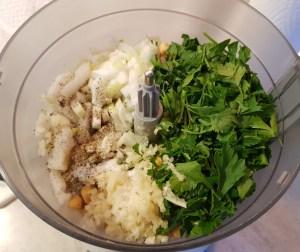 pregatire falafel