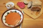 Supa crema de legume si rosii
