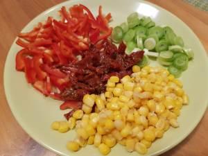 ingrediente quesadilla vegana