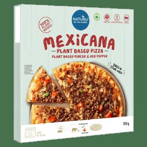 Pizza mexicana naturli