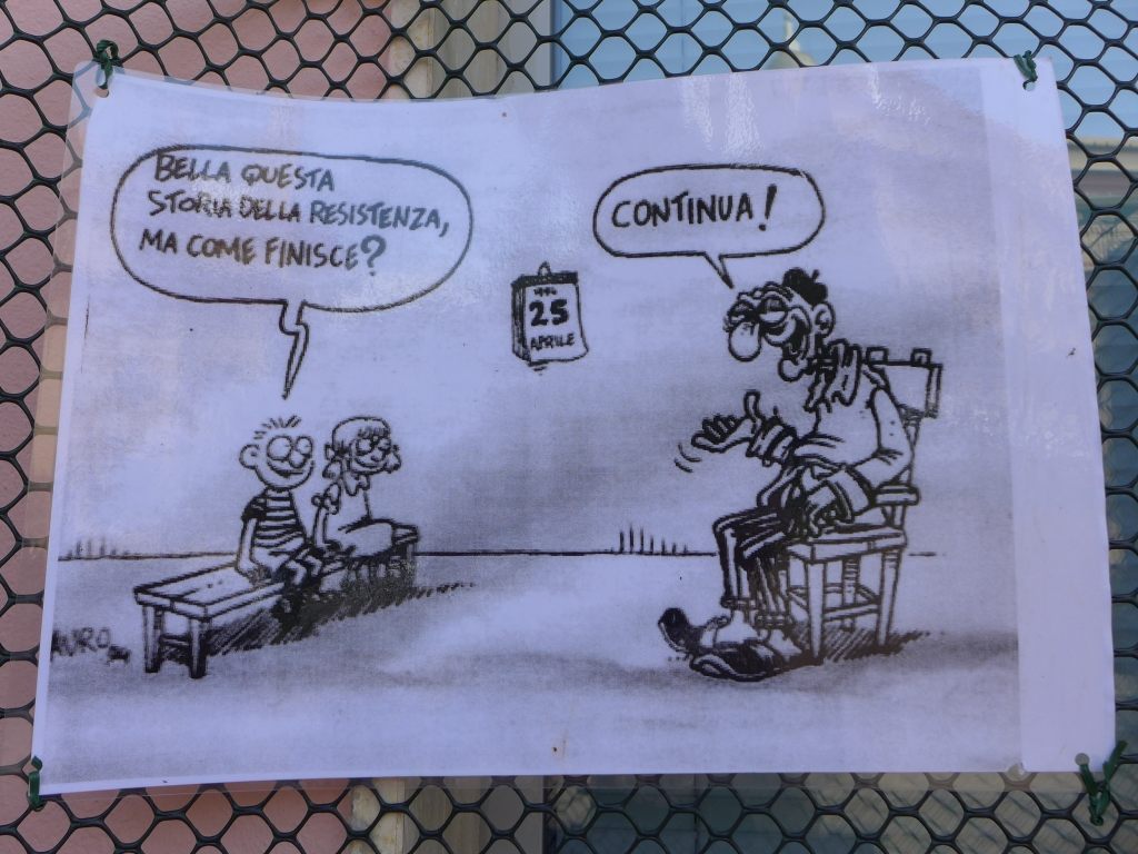 Caricature resistenzia