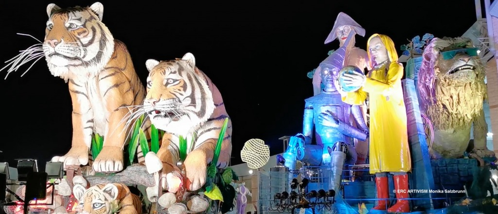 Carnival of Viareggio 2020 – Home Sweet Home