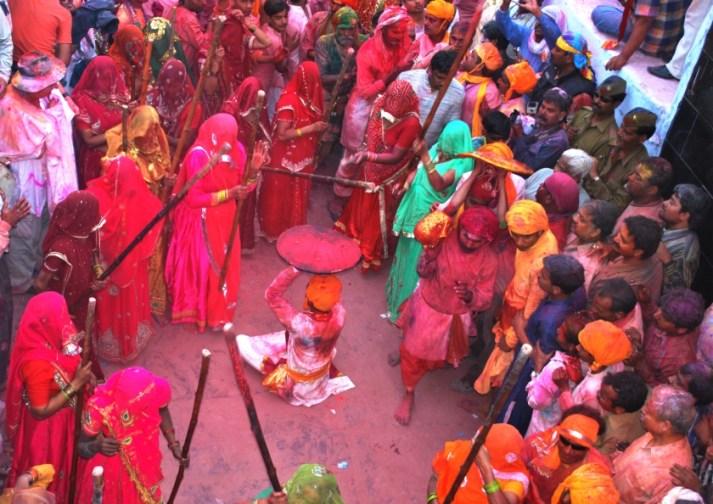 Lathmar Holi -Barsana, Mathura