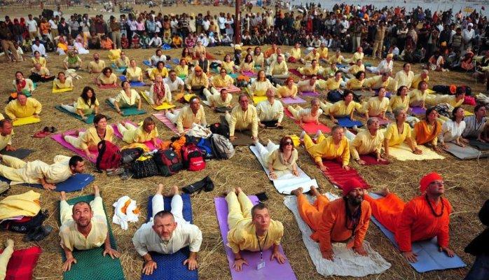 Yoga Seminar during Ujjain Kumbh Mela