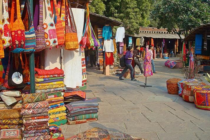 Delhi shopping bazaar