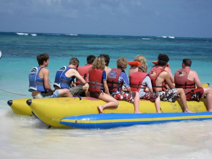 Banana Tube Boat Ride Goa