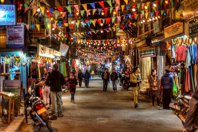 Shopping Bazaar Kathmandu Nepal
