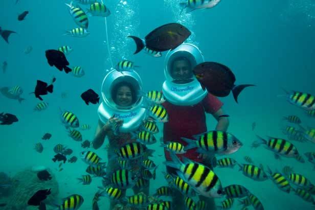 Undersea Walking Andman