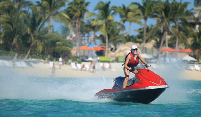 jet-skiing Goa