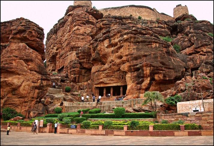 Badami Cave Karnatak