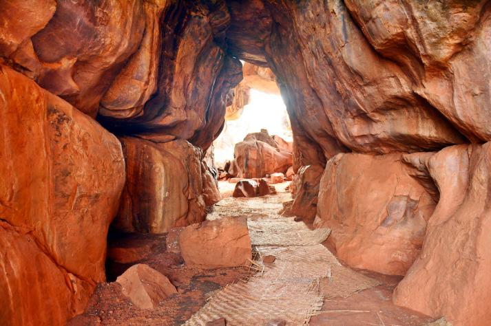 Bhimbetka Caves, Madhya Pradesh.