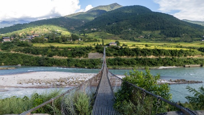 Punakha Suspension Bridge Thimphu