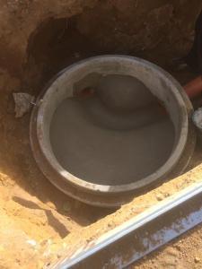 Kanalbauarbeiten   Spickenagel
