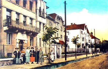 A kolozsvári Arany János utcai bérvillák