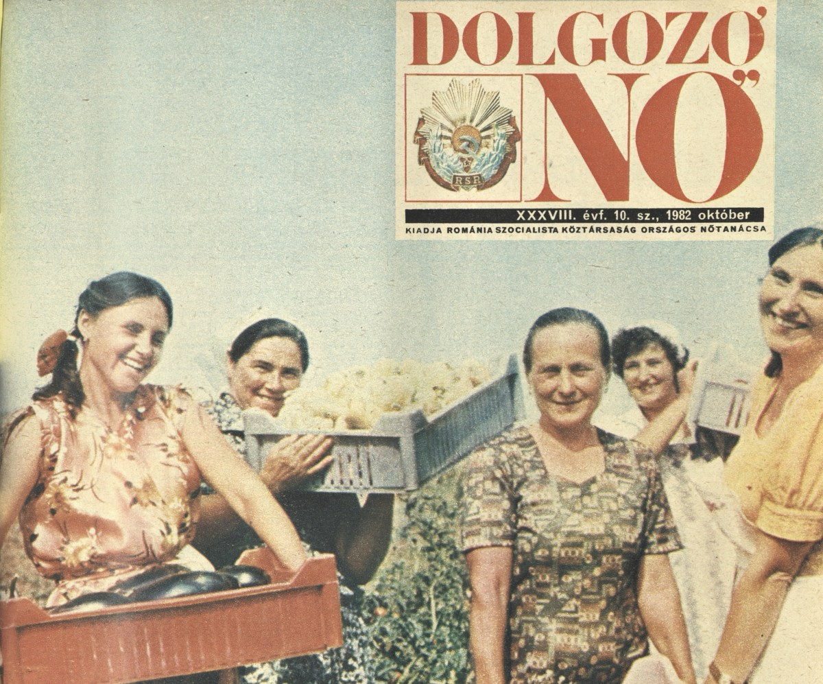 Dolgozó Nő: Románia egyetlen magyar nyelvű női magazinja az államszocializmus idején