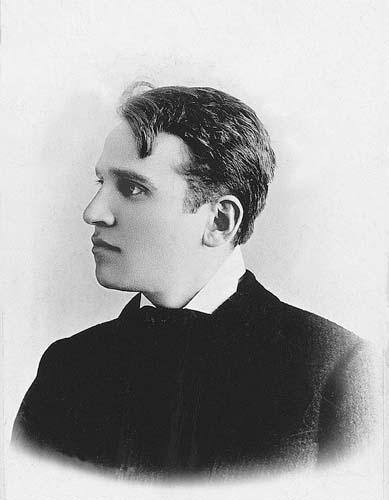 Janovics Jenő fiatalon