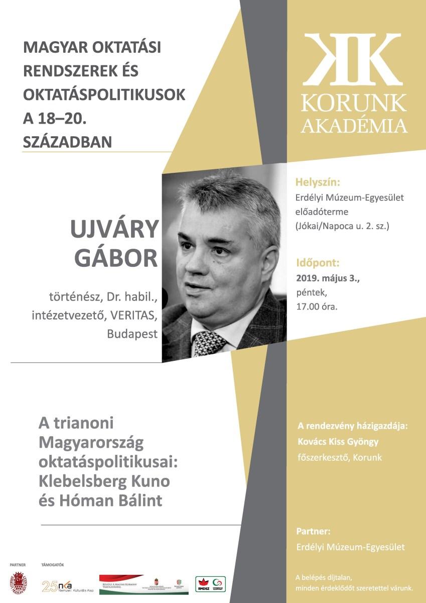 A trianoni Magyarország oktatáspolitikusai - Korunk Akadémia előadás
