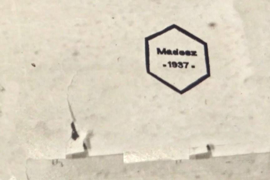 MADOSZ logó a hexagon választási jellel