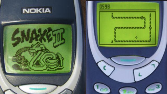 Snake game in Nokia 3310