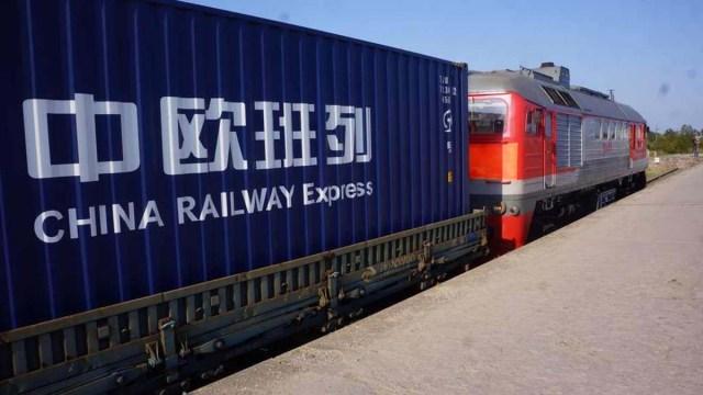 Рекордный поток грузов из Китая в Европу