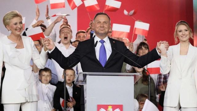 Президентом Польши переизбран Анджей Дуда