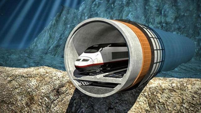 Подводный туннель между Финляндией и Эстонией
